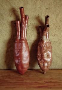organic shaped vase, 2000, glazed ceramics, h. circa 80cm